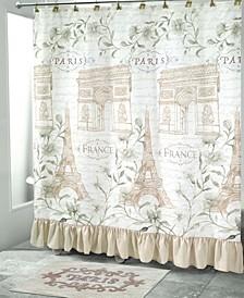 Paris Botanique Shower Curtain Collection