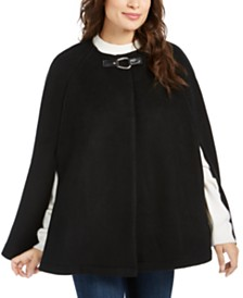 Lauren Ralph Lauren Solid Bridle Cape