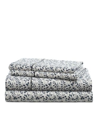Eva Leaf Queen Sheet Set