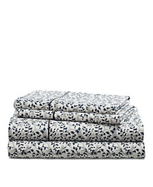 Lauren Ralph Lauren Eva Leaf King Sheet Set