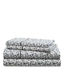 Lauren Ralph Lauren Eva Leaf Queen Sheet Set
