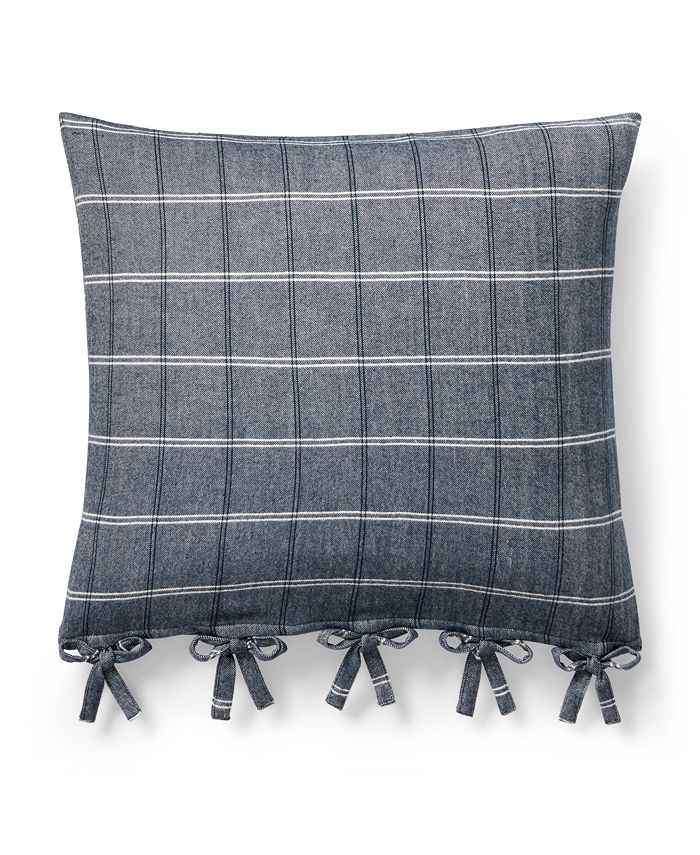 Lauren Ralph Lauren - Ralph Lauren Eva Open-Weave 20 Square Decorative Throw Pillow