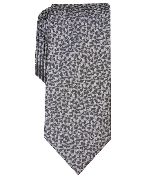 INC International Concepts INC Men's Skinny Abstract Tie, Created For Macy's