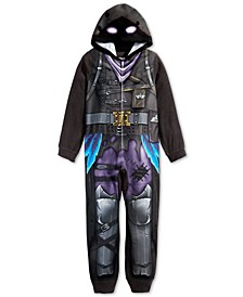 Little & Big Boys 1-Pc. Fortnite Hooded Pajamas