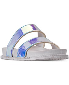 Little Girls' Anna Slide Sandals from Finish Line