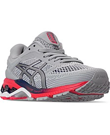 Women's GEL-Kayano 26 Wide Width Running Sneakers from Finish Line