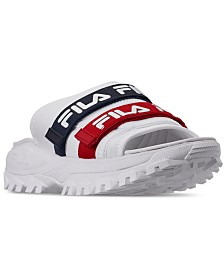 Fila Men's Outdoor Slide Sandals from Finish Line