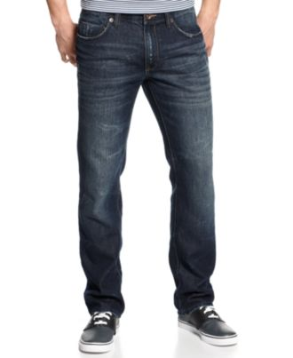 DKNY Jeans Soho Straight-Leg Jeans, Berkshire Blue Wash
