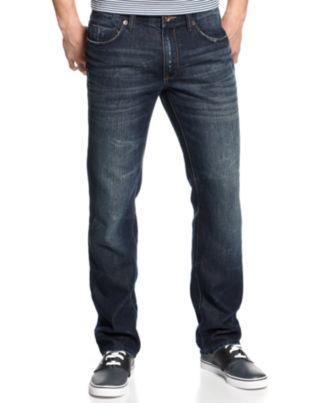 DKNY Jeans Soho Straight-Leg Jeans, Berkshire Blue Wash