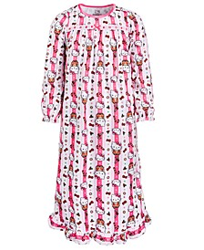 Little & Big Girls Hello Kitty Printed Nightgown