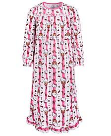 Little & Big Girls Hello Kitty Printed Nightgown