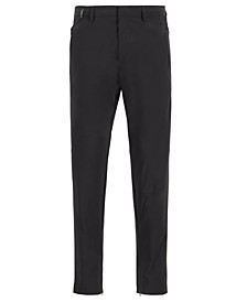 BOSS Men's Keen2-4 Tapered-Fit Travel-Friendly Bi-Stretch Trousers