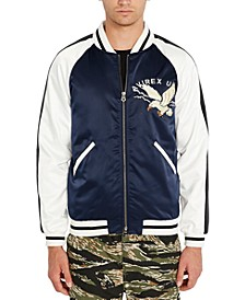 Men's Eagle Graphic Bomber Jacket