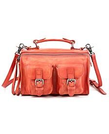 Las Luna Leather Crossbody Bag