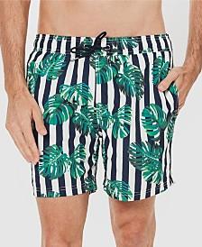 Coast Clothing Co Stripe Leaf Board Short