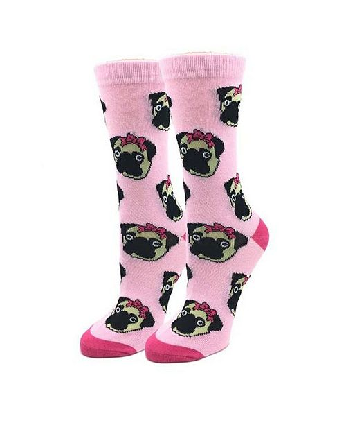 Sock Harbor Lady Pug Socks