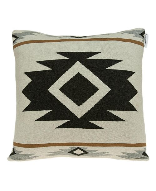 Parkland Collection Otto Southwest Tan Pillow Cover With Down Insert