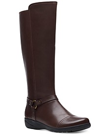 Women's Cheyn Lindie Leather Boots
