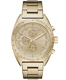 Chaps Rockton Chronograph Gold-tone Stainless Steel Bracelet Watch 44mm