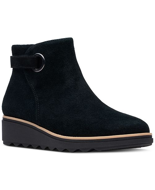 Clarks Women's Sharon Spring Booties, Created For Macy's