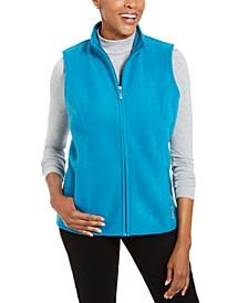Sport Zip-Up Zeroproof Fleece Vest, Created for Macy's