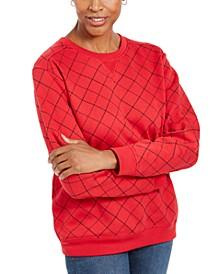 Sport Printed Crewneck Sweatshirt, Created for Macy's