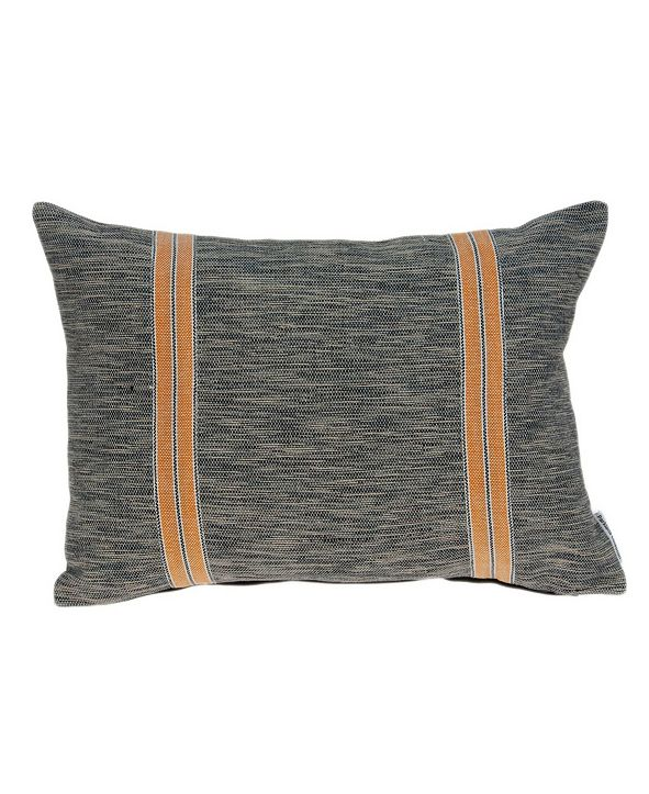 Parkland Collection Colar Transitional Multicolor Pillow Cover With Down Insert