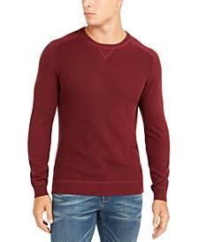 Men's Pima Cotton Crew Neck Sweater, Created For Macy's