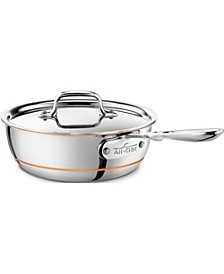 All Clad Copper Core 2-Qt. Saucier