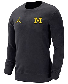 Jordan Men's Michigan Wolverines Crewneck Sweatshirt