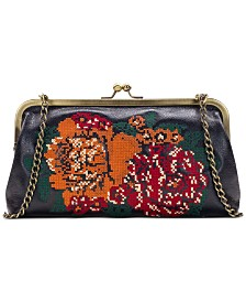 Patricia Nash Cross-Stitch Potenaz Frame Satchel