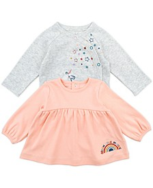 Baby Girl 2-Pack Fashion Tees