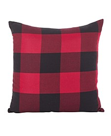 "Buffalo Check Plaid Design Cotton Throw Pillow, 20"" x 20"""