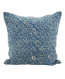 "Distressed Design Boho Throw Pillow, 20"" x 20"""