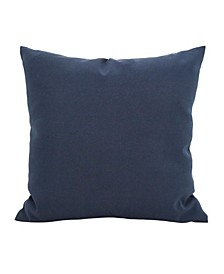 """Outdoor Polyester Filled Throw Pillow, 17"""" x 17"""""""