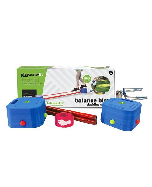 b4Adventure Playzone-Fit Balance Blox Slackline Kit For Preschool Play, Balancing Toy For Kids