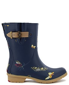 Chooka Women's Butterfly Mid-Calf Rain Boot