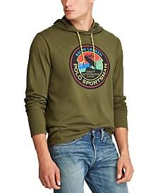 Polo Ralph Lauren Men's Hooded Jersey Sportsman T-Shirt