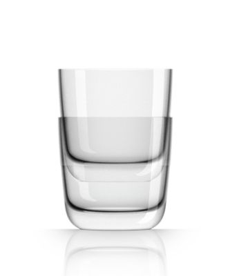 by Palm Tritan  Forever-Unbreakable Clear Whisky Tumbler non-slip base,  Set of 2