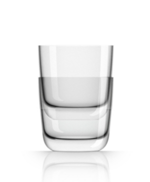 Marc Newson by Palm Tritan Clear Whisky Tumbler, Set of 2