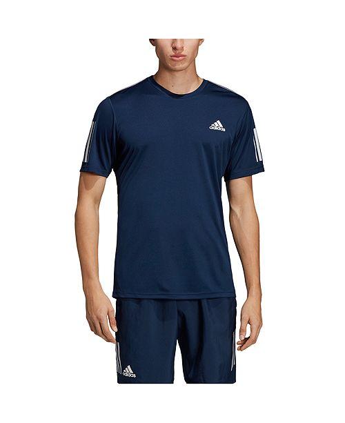 Men's Club 3 Stripe Tennis T Shirt