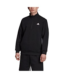 Men's 3-Stripe 1/2 Zip Pullover Jacket