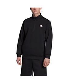 Adidas Men's 3-Stripe 1/2 Zip Pullover Jacket