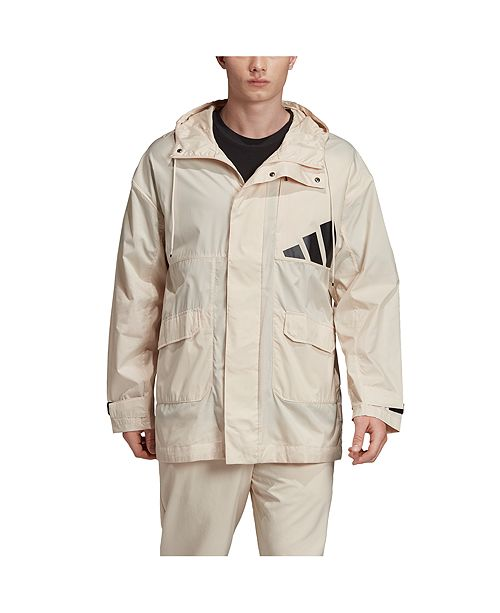 adidas Men's TP Lightweight Long Length Parka