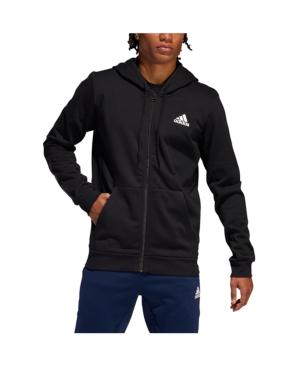 Men's Climawarm Full Zip Basketball Hoodie In Black