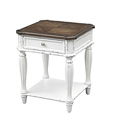 Cottage Row End Table, Quick Ship