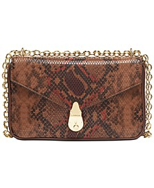 Snake Lock Shoulder Bag