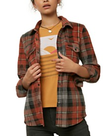 O'Neill Juniors' Plaid Shirt
