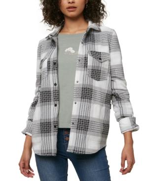 O'neill Juniors' Plaid Shirt In Gray