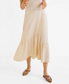 Soft Fabric Midi Skirt